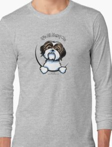 Brown/White Shih Tzu :: It's All About Me Long Sleeve T-Shirt