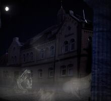 haunted house by NafetsNuarb