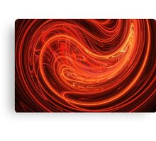 Deep fire Canvas Print