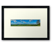 Staxton Brow Framed Print