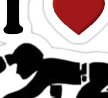 I HEART COAL MINERS Sticker