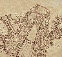 XVIII century clothin by Kasheva