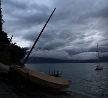 Lake Como Italy by DHParsons