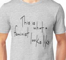Feminist Looks Like Unisex T-Shirt