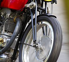 Classic motorcycle iPhone case by Martyn Franklin