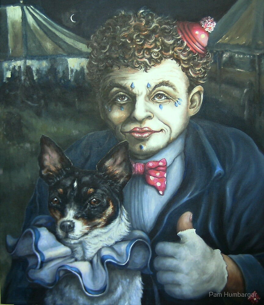 Circus Memories of a Little Dog by Pam Humbargar