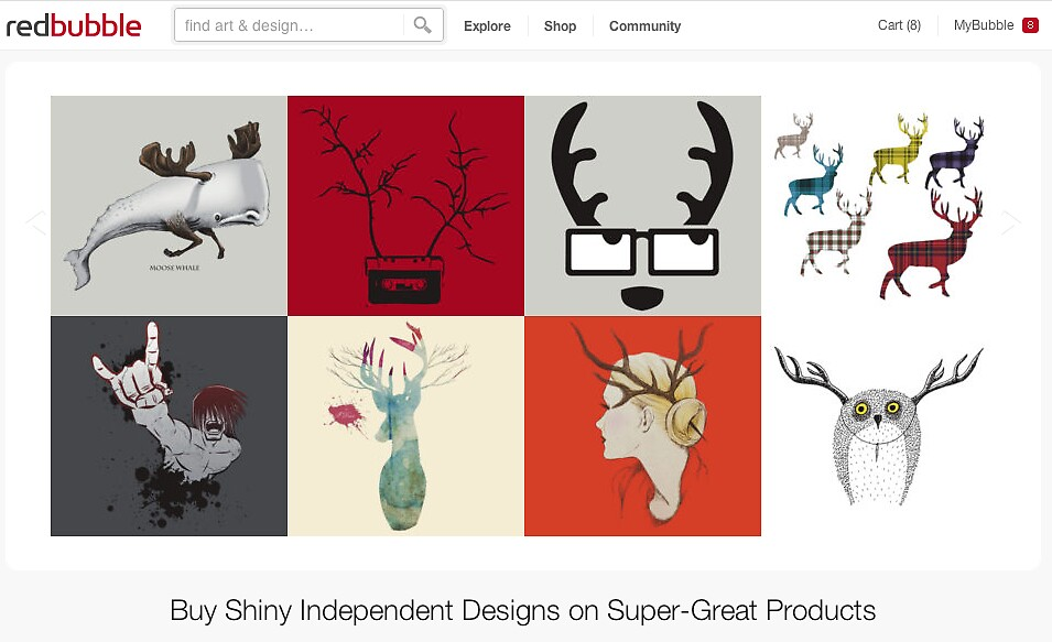 30 June 2012 by The RedBubble Homepage
