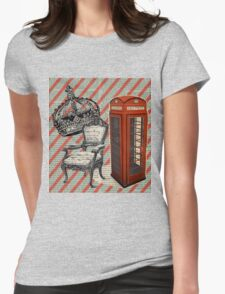 retro jubilee victorian chair london telephone booth T-Shirt