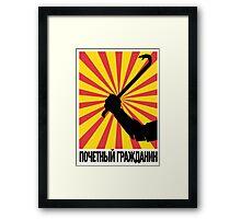 Free Man Framed Print