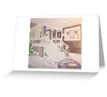No. 98 of 100 SLC Porches Greeting Card