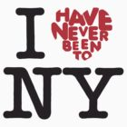 I have never been to New York by MrYum