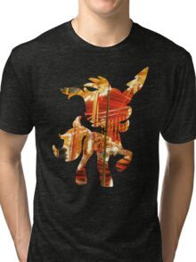 Keldeo used round Tri-blend T-Shirt