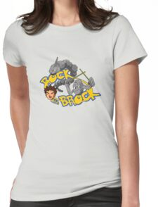 Brock of Ages Womens Fitted T-Shirt