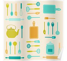 AFE Kitchen Utensils Poster