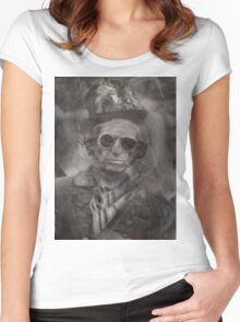 keith richards Women's Fitted Scoop T-Shirt
