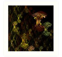 Cruciferous Brassica Art Print