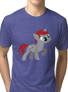 Commander She-pony Tri-blend T-Shirt