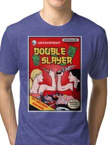 Double Slayer Tri-blend T-Shirt