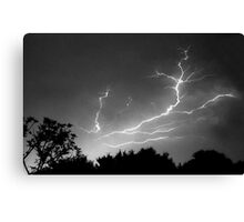 Cloud to Cloud Discharge #1. Canvas Print