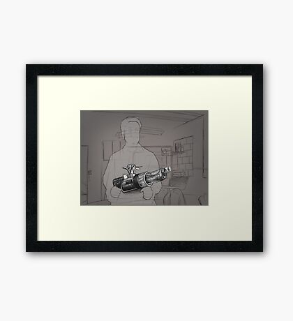 Gone - Warren - BtVS S6E11 Framed Print
