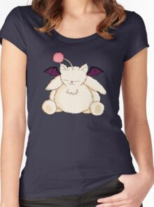 A Snoring Moogle Women's Fitted Scoop T-Shirt