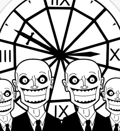 The Gentlemen Clocktower Sticker