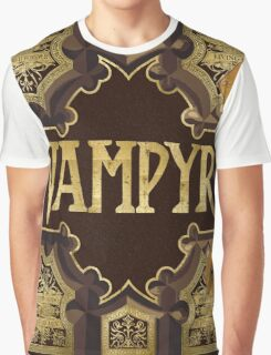 Vampyr Book Graphic T-Shirt