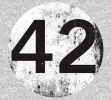 42 - black circle Kids Clothes