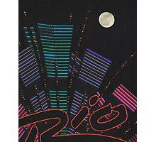 Moon Over Rio Casino Photographic Print
