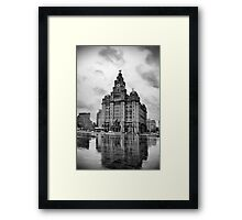 Liver Building Framed Print