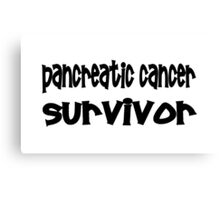 Pancreatic Cancer Canvas Print
