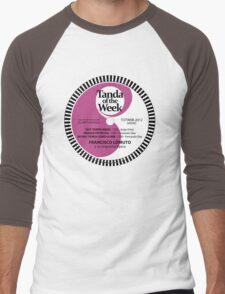 TOTW08/2012 - Lomuto - milongas - TK Purple Men's Baseball ¾ T-Shirt