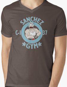 Sanchez GYM Mens V-Neck T-Shirt