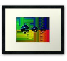 Snap Framed Print