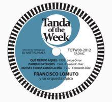 TOTW08/2012 - Lomuto - milongas - TK Blue One Piece - Short Sleeve