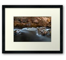 Longing For Fall Framed Print