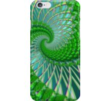 Quilted green iPhone Case/Skin