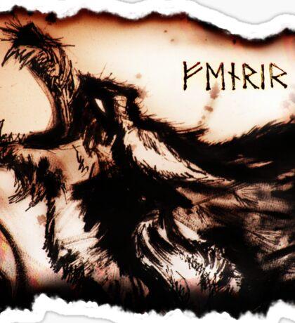 FENRIR Wolf Sticker