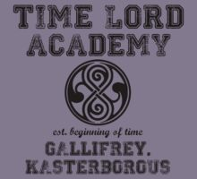 Time Lord Academy Kids Tee