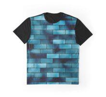 Blue Brick Galaxy  Graphic T-Shirt