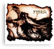 FENRIR Wolf Canvas Print
