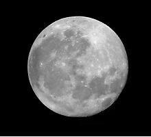 Full Moon. Photographic Print