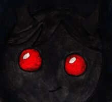 Azazel: Binding of Isaac  Sticker