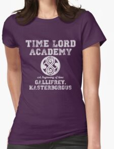 Time Lord Academy Womens Fitted T-Shirt
