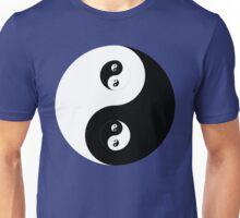 Ying Yang B&W Unisex T-Shirt