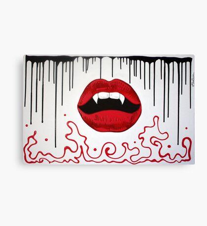 Kiss Of The Vampire Canvas Print