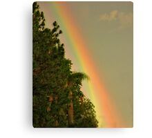 End of the Rainbow. Canvas Print