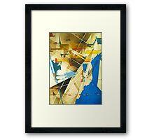 Modern Cultures Framed Print