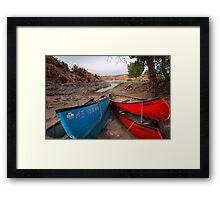 Very Dry Dock Framed Print