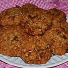 Delicious Granola Oatmeal Cookies by skreklow